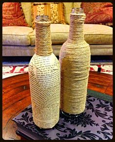 We are all about up-cycling at Childress Vineyards! Here is a cool project from our Events Department how to reuse those old wine bottles: http://www.childressvineyards.com/pdfs/winebottlecenterpieces.pdf #wine #diy