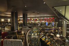 The bar at Quaglino's in St James's London