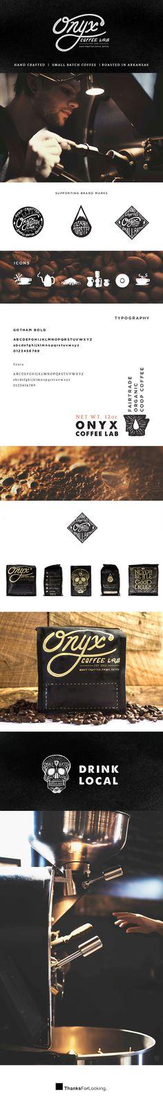 Onyx Coffee Lab - Branding by Jeremy Teff, via Behance