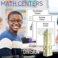 Math Centers Division - Math CCSS  by Innovative Teacher