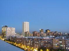 Dicen que el color del cielo de Madrid es único en el mundo