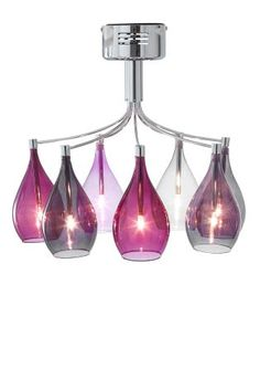 Buy Hanbury Plum 7 Light Flush from the Next UK online shop
