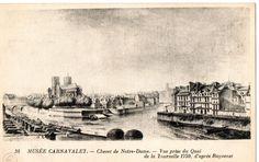Musée Carnavalet. Chevet de Notre Dame