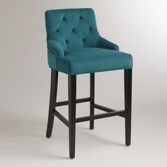 Saw these in the store...gorg!!!!  One of my favorite discoveries at WorldMarket.com: Pacific Blue Lydia Barstool