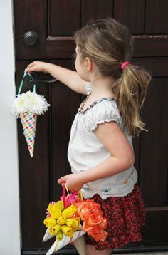 How to make May Day bouquets and spread some flower cheer on May 1st!
