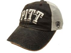 60309beebfc Pittsburgh Panthers Top of the World Brown Scat Mesh Adjustable Snapback Hat  Cap