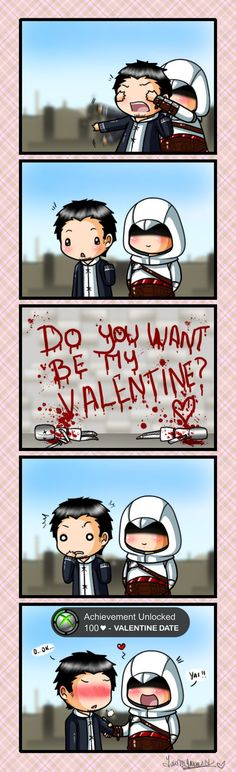 Valentine Entry - Be my Valentine! by YukiMiyasawa on DeviantArt