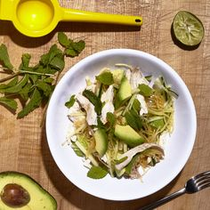 Spaghetti Squash and Avocado Chicken Salad Recipe - Bon Appétit