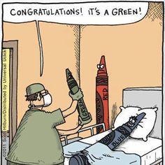Congratulations! It's a green!