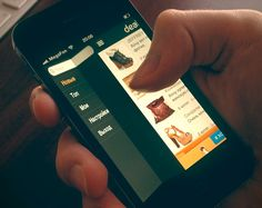 Deal in app for iPhone by Cuberto , via Behance