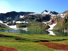 Lulusar dudipatsar national park one of the most beautiful grassland and  the spectacular views of majestic flora