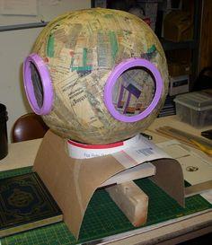 MRX Designs: Steampunk Diving (Space) Helmet (pt.2)