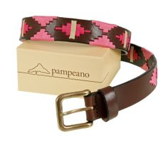 pampeano polo belt - Aurora Handmade leather polo belts from La Pampa, Argentina. Be inspired by luxury South American treasures from pampeano.