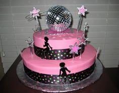 Un gâteau 100% disco