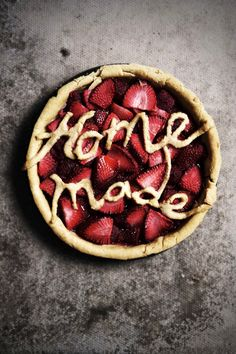 #strawberry and #raspberry #tart #homemade