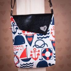 Černá taška Dafné -  Námořnická