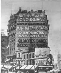 New York's first electric billboard, 23rd and 5th « Ephemeral New York