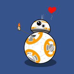Star Wars: The Force Awakens - BB-8 Thumbs Up T-shirt