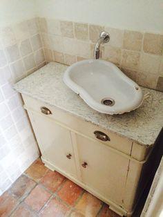WC meubel OLD LOOK  www.bruinbouw.nl
