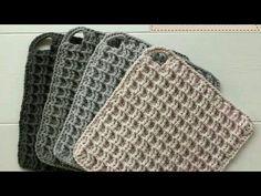 Crochet Square Patterns, Crochet Round, Crochet Squares, Love Crochet, Crochet Stitches, Crochet Hooks, Knit Crochet, Crochet Basics, Crochet For Beginners