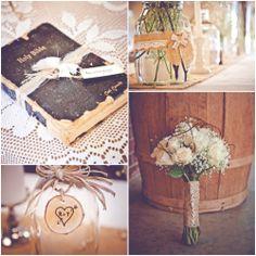 burlap wedding ideas | Burlap Inspired Country Wedding: Trudie + Robbie - Rustic Wedding Chic