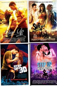 """I l<3ve the """"Step Up"""" movies.......dance, music, and a love story, what more do you need ?"""
