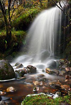Waterfall near Loch Shiel. Photo by Graeme. Source Flickr.com