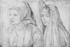 Dürer, Albrecht: Frauen aus Bergeb und Goes, 1520