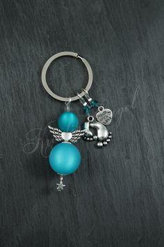 Schlüsselanhänger - Engel Schlüsselanhänger Baby ♥ Made with Love ♥ - ein Designerstück von Kreativ-Engel bei DaWanda