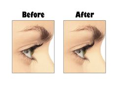 Before and After using ForteBellezza's Pink Eyelash Curler. You can curl like a PRO also, CLICK HERE to find out more about the curler and to purchase it on Amazon.com http://fortebellezza.com/eyelash-curler-pink