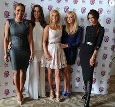 Melanie Brown, Melanie Chisholm, Geri Halliwell, Emma Bunton et Victoria Beckham…