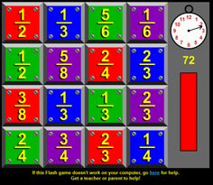 Math Chimp has the best grade math games online. We have the best free math games for grade students. all organized by the common core state standards for math. 4th Grade Math Games, Fourth Grade Math, Math Tutor, Teaching Math, Teaching Posts, Creative Teaching, Teaching Ideas, Math For Kids, Fun Math