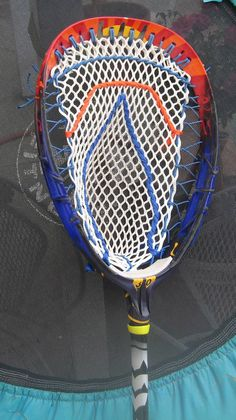 red lacrosse heads stringing patterns - Google Search