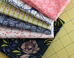 Gorgeous Luxe in Bloom by maureencracknell, via Flickr  Get the collection at Fat Quarter Shop!