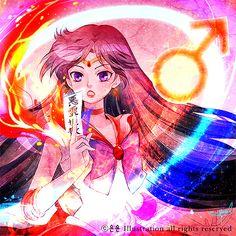 Sailor Mars セーラーマーズ by ヨンヨン on pixiv