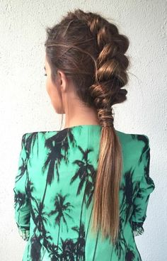 10 Easy Stylish Braided Hairstyles for Long Hair – Inspired Creative Braided Hairstyle Idea. 10 Easy Stylish Braided Hairstyles for Long Hair – Inspired Creative Braided Hairstyle Ideas # Try On Hairstyles, Box Braids Hairstyles, Trending Hairstyles, Elegant Hairstyles, Hairstyle Ideas, Hairstyles Pictures, Summer Hairstyles, Braids For Short Hair, Braids For Long Hair