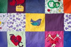 Patchwork Quilt and Cushion Workshops are very popular as #HenParty or #BabyShower activities.  #TheCraftyHen #Craft