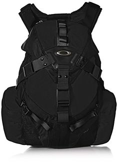 Oakley Men's Icon Pack Backpack, Black, One Size Hiking Backpack, Travel Backpack, Backpack Bags, Travel Bags, Mochila Oakley, Oakley Backpack, Man Icon, Icon Pack, Black Backpack