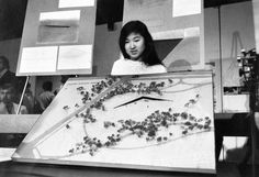 Maya Lin , 1981 Maya Lin (born 1959) is an architect and artist, best-known for designing the Vietnam Memorial after she won a national comp...