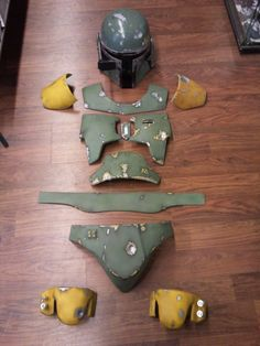 WAR HEAD: ESB Boba Fett costume