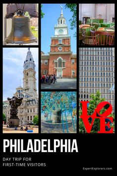 Easy walking itinerary for a day trip to Philadelphia, full of historical and cultural first-time visitor essentials that make Philly unique. It's the perfect city break in the north-east. Via ExpertExplorers.com | #Pennsylvania #Philadelphia #Citybreak #daytrip