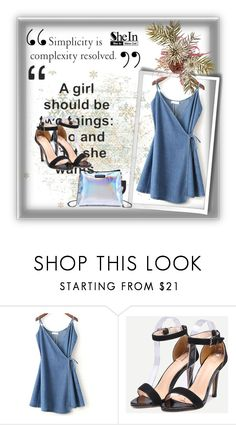 """SheIn 8/IX"" by hedija-okanovic ❤ liked on Polyvore featuring shein"