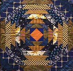 Pepper Cory - pineapple quilt block