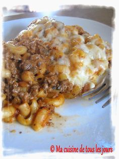 Pasta Recipes, Beef Recipes, Cooking Recipes, Food L, Food Porn, Confort Food, Casserole Dishes, Pasta Dishes, Macaroni And Cheese