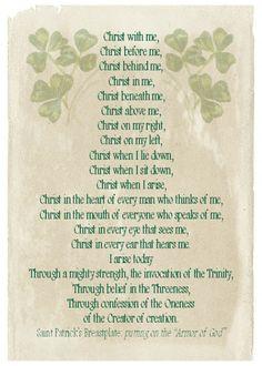 St Patrick's Day printable