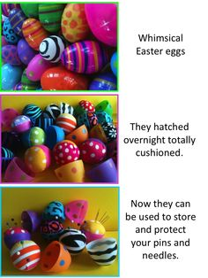 Idea for Plastic Easter Eggs