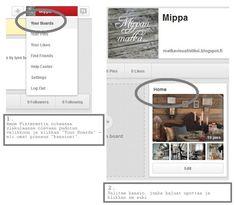 Matka visualistiksi: Pinterest taulun upottaminen blogi postaukseen