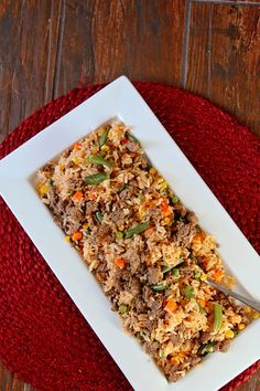 This Post Contains Affiliate Links - Disclosure PolicyMexican Fried Rice Recipe This shop has been compensated by Collective Bias, Inc. and its advertiser, Mars, Incorporated. All opinions are mine alone. #BensBeginners #UncleBensPromo #CollectiveBias Do you cook with your kids? My girls love to cook, but I will be honest, sometimes it can make the whole process a smidge more difficult. But this is why I recommend keeping the whole process simple. Simple steps and easy recipes, like my…