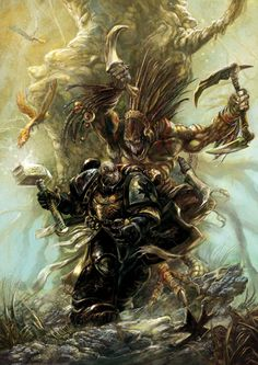 inquisitors-art-gallery:    Black Templarby Yogh-Art