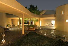 Is Molas Resort ville di lusso tra i campi da golf della Sardegna  via @portedilo
